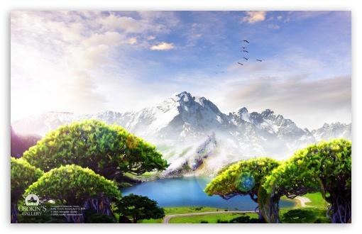 Download Lake Dream UltraHD Wallpaper