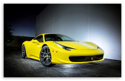Download 2013 Ferrari 458 Italia Vorsteiner UltraHD Wallpaper