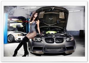BMW Tune Girl