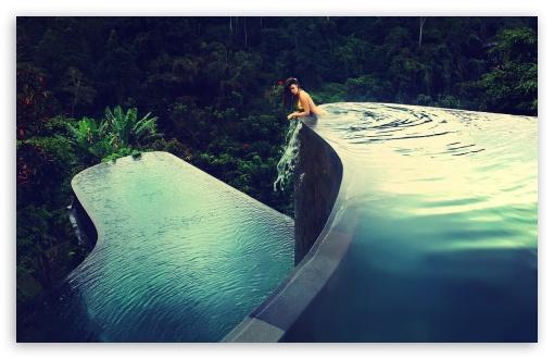 Download Rainforest Luxury Hotel UltraHD Wallpaper