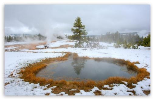 Download Yellowstone Hot Lakes UltraHD Wallpaper