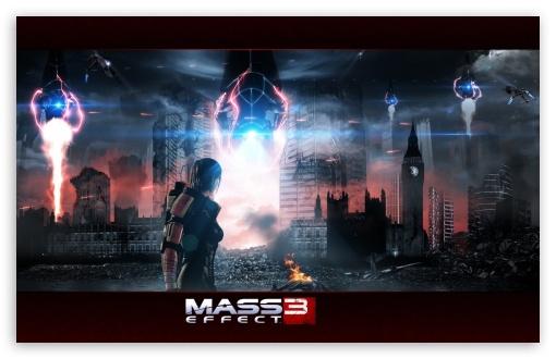 Download Mass Effect 3 UltraHD Wallpaper