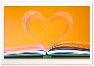 Open Book Heart