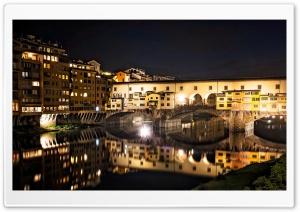 Ponte Vecchio at night,...