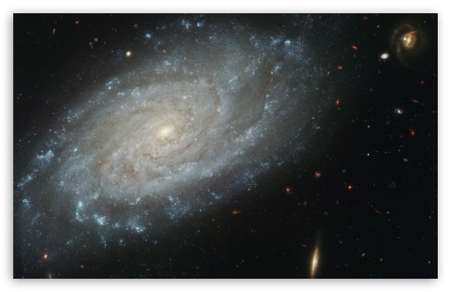Download A Compact Galaxy Group UltraHD Wallpaper