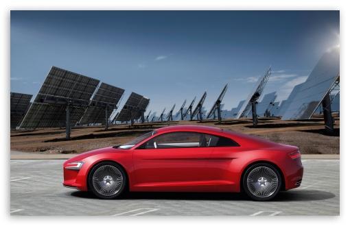 Download Audi E Tron Electric Car UltraHD Wallpaper