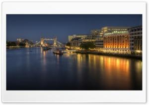 London Bridge Hospital At Night