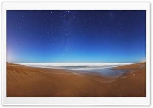 Starry Sky Beach Fisheye