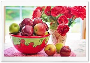 Still Life Apples fruits...