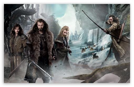 Download The Hobbit An Unexpected Journey 2 Dwarves UltraHD Wallpaper