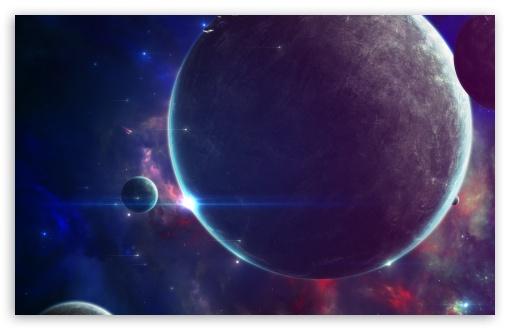Download Space Fantasy UltraHD Wallpaper