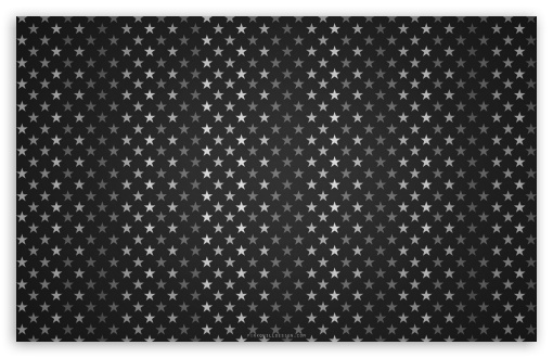 Download Stars Pattern Black And White UltraHD Wallpaper