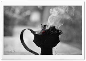 Black  White Smoke