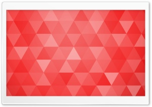 Red Abstract Geometric...