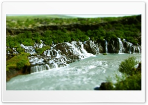 Jungle Waterfall, Tilt And...
