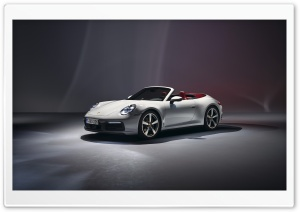 2019 White Porsche 911...