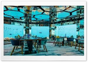 Maldives Underwater restaurant