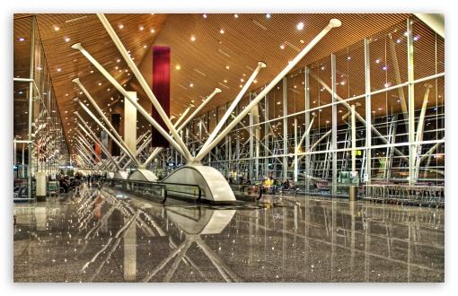 Download Kuala Lumpur International Airport, Malaysia UltraHD Wallpaper