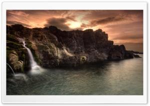 Coastal Waterfalls
