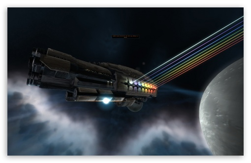 Download 3D Spaceship UltraHD Wallpaper