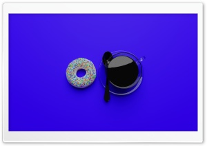 Coffee with a Donut