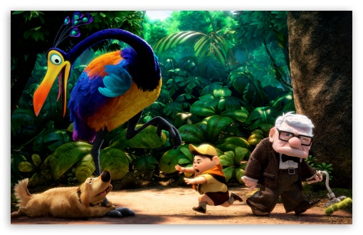 Download Pixars UP UltraHD Wallpaper