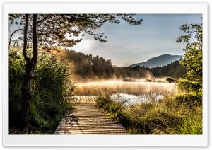 Egelsee, Lake in Carinthia,...