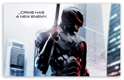 Download Robocop _crime has a new enemy UltraHD Wallpaper
