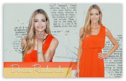 Download Denise Richards UltraHD Wallpaper