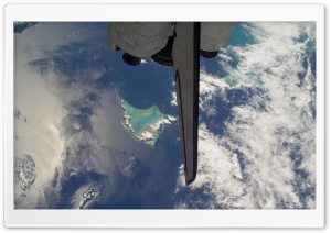 View From Space Of Bahamas...
