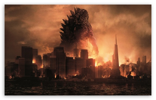 Download Godzilla Monsters UltraHD Wallpaper