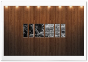 War Vintage Picture   Wood Wall