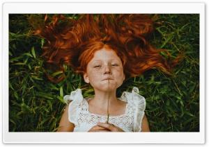 Vintage Child Girl Portrait