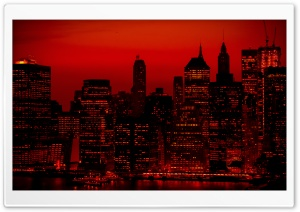 Red Sky At Night New York City