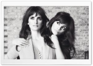 Penelope Cruz And Sister...