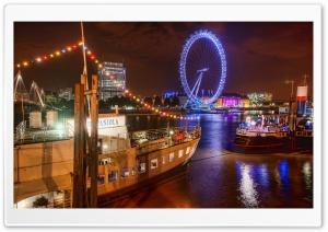 London At Night, HDR