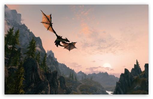 Download Skyrim Dawnguard UltraHD Wallpaper