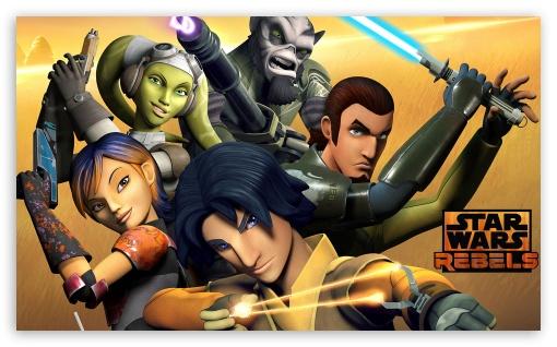 Download Star Wars Rebels Crew UltraHD Wallpaper