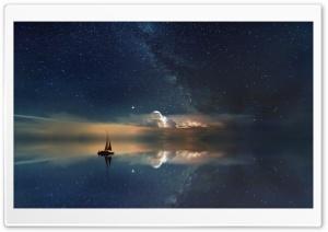 Astrophotography Ocean Night...