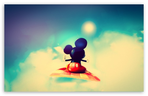 Download Cute Mickey Mouse UltraHD Wallpaper