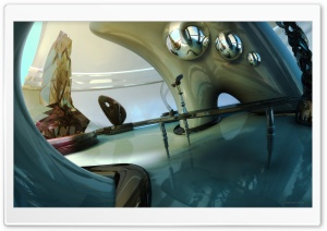 Abstract Museum 3D
