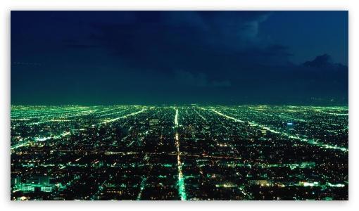 Download Aerial City View UltraHD Wallpaper