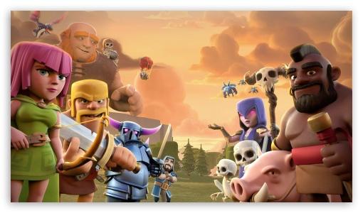 Download Clash Of Clans UltraHD Wallpaper