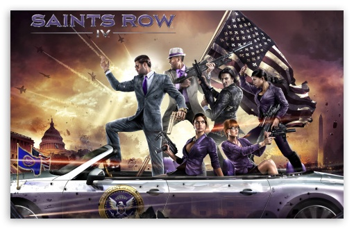 Download Saints Row IV UltraHD Wallpaper