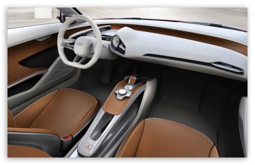 Download Audi e-tron Beautiful Interior UltraHD Wallpaper