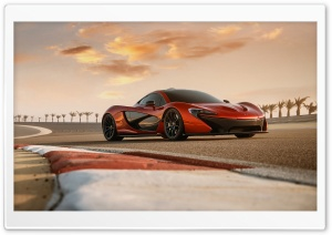 2014 McLaren P1 Test Drive