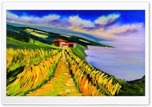 Toskana Olgemalde, Tuscany...