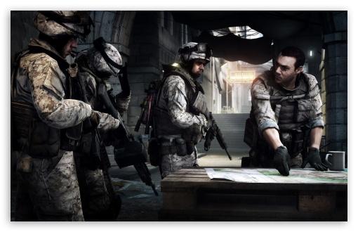 Download Battlefield 3 Concept Art UltraHD Wallpaper