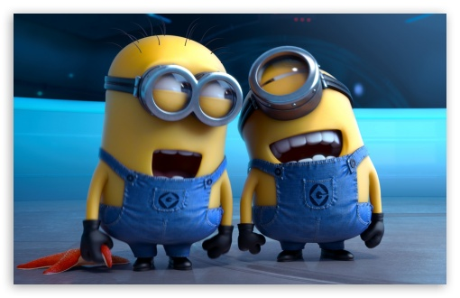 Download Despicable Me 2 Laughing Minions UltraHD Wallpaper