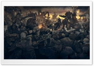 Gears Of War Soldiers Monsters